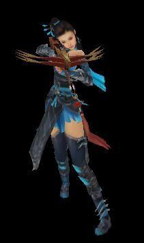 弓箭手小姐姐魔兽模型下载