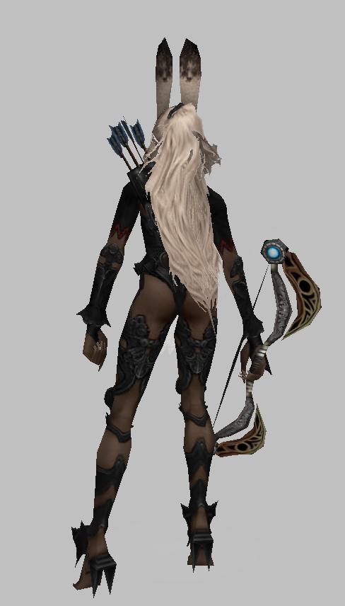 弓箭兔女郎魔獸模型下載