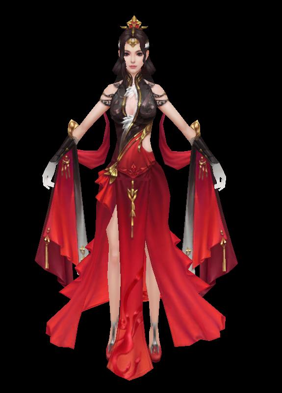 红花女魔兽模型下载
