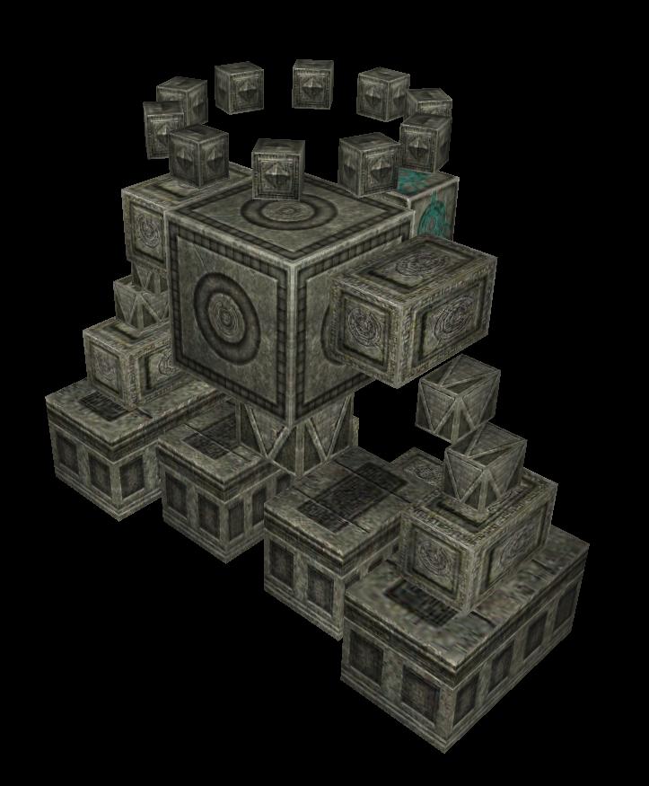 遺跡巨人魔獸模型下載