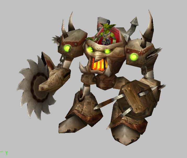 工匠魔兽模型下载 魔兽争霸模型