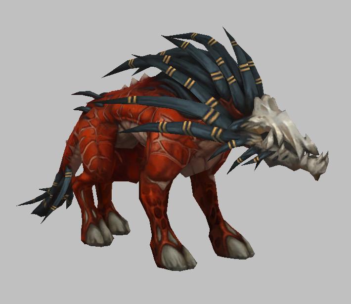 猎犬魔兽模型下载 魔兽争霸模型