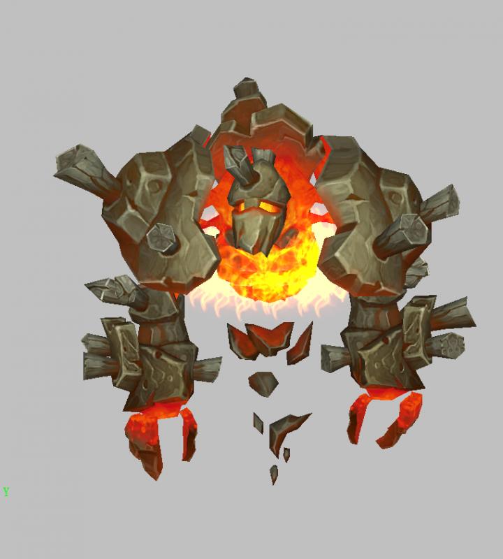 烈君魔兽模型下载 魔兽争霸模型