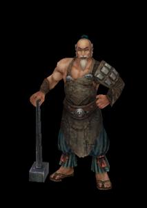 铸剑师魔兽模型下载