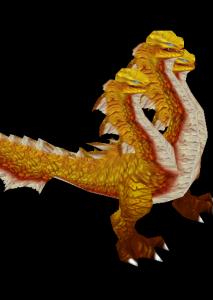金头蛇魔兽模型下载