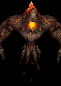 赤炎巨人魔兽模型下载