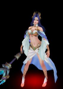 女娲魔兽模型下载