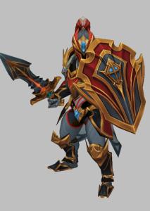 卫兵魔兽模型下载 魔兽争霸模型