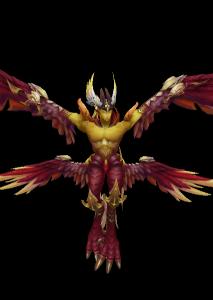 天鹰魔兽模型下载