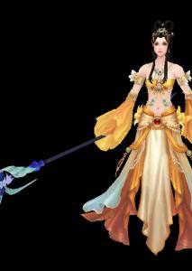 仙灵月魔兽模型下载