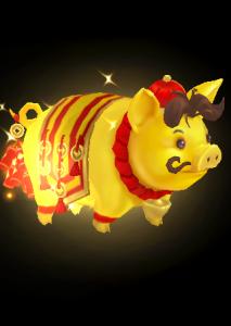 金猪报喜魔兽模型下载