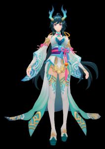 小龙女魔兽模型下载