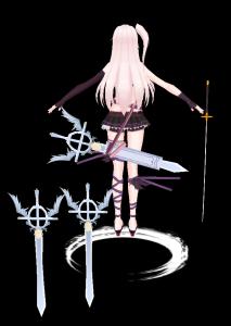 雪米魔兽模型下载